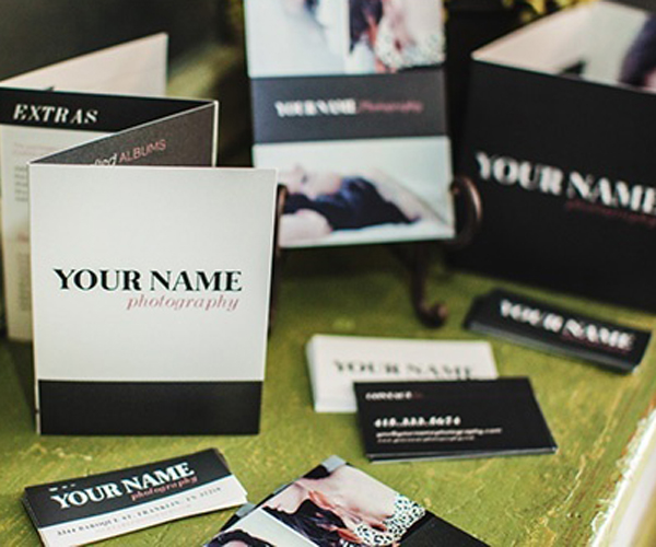 Marketing printing services 3 gorgeous borders for personalized 5x7 sample prints business cards for your new contact to keep on hand bonus our best tips for creating meaningful reheart Gallery